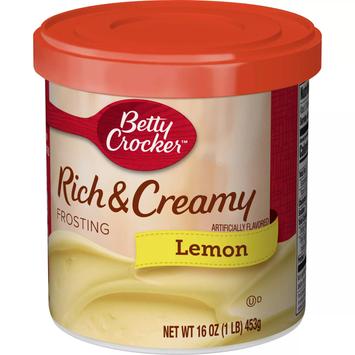 Betty Crocker Lemon Frosting