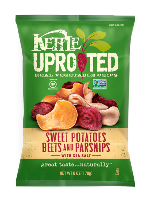 Kettle Brand® Uprooted Sweet Potato, Beets & Parsnips Vegetable Chips