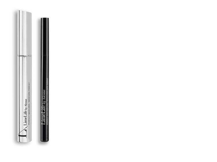 Limelife By Alcone Perfect Mascara( Black) & Enduring Eyeliner Pencil( Neutral)