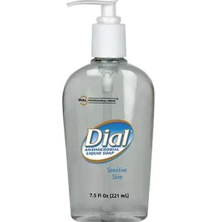 Dial® Antimicrobial Liquid Hand Soap for Sensitive Skin