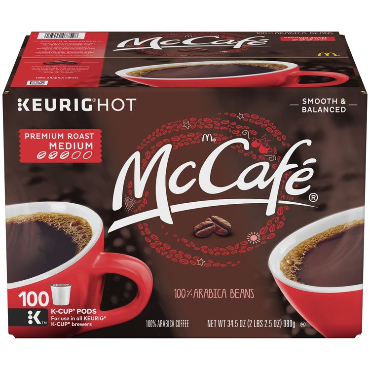 McCafe Premium Roast Medium Coffee K-Cup Pods