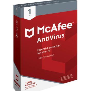 McAfee Antivirus 1pc
