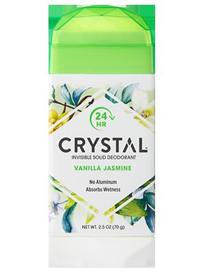 Crystal Invisible Solid Deodorant - Vanilla Jasmine