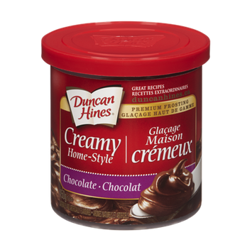 Duncan Hines  Creamy Home-Style, Chocolate (450 g)