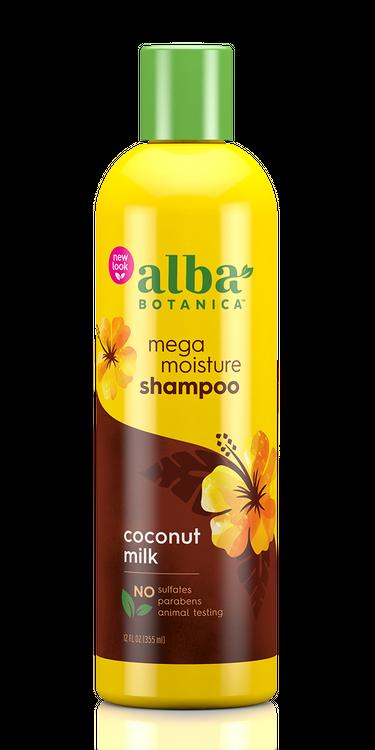 Alba Botanica Mega Moisture Shampoo, Coconut Milk