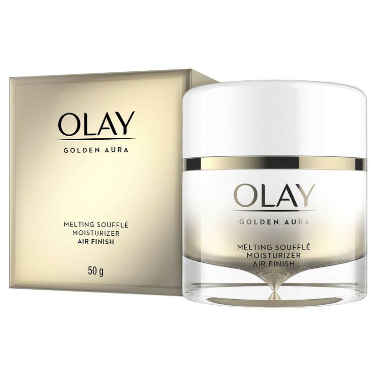 Olay Golden Aura | Melting Souffle Face Moisturizer | Air Finish