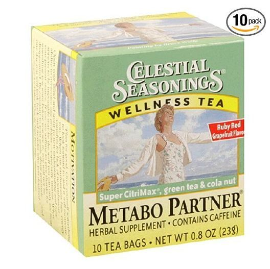 Celestial Seasonings® Wellness Tea Metabo Partner