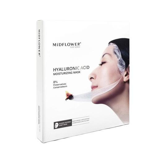 MíDFLOWER Hyaluronic Acid Moisturizing Mask
