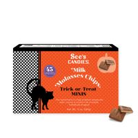See's Candies Milk Molasses Chips Trick-or-Treat Minis