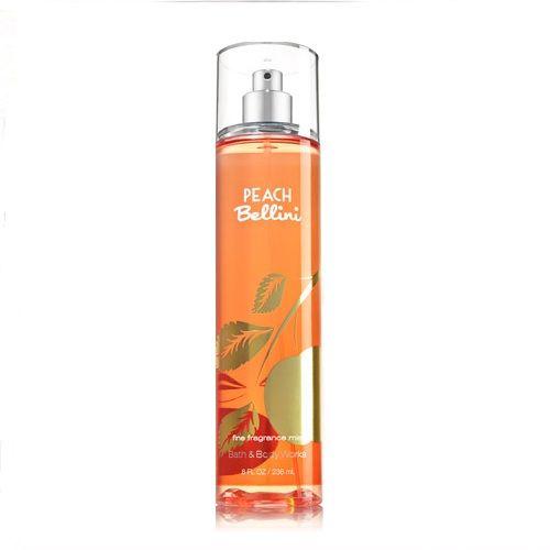 Bath & Body Works PEACH BELLINI Fine Fragrance Mist