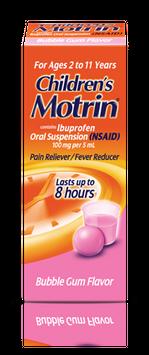 Children's MOTRIN®, Bubblegum