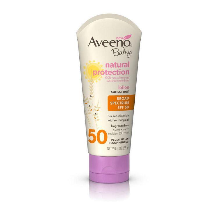 Averno®  Baby Natural Protection Sunscreen Lotion SPF 50
