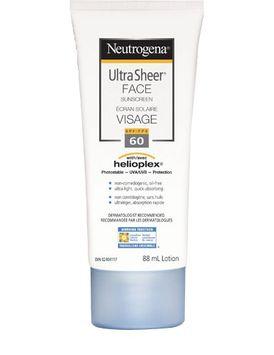 Neutrogena® Ultra Sheer Face Sunscreen SPF 60