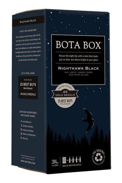 Bota Box Nighthawk Black Blend