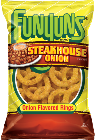 FUNYUNS®  Steakhouse Onoin Flavored Rings