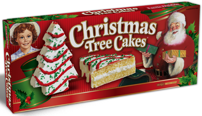 Little Debbie® Vanilla Christmas Tree Cakes