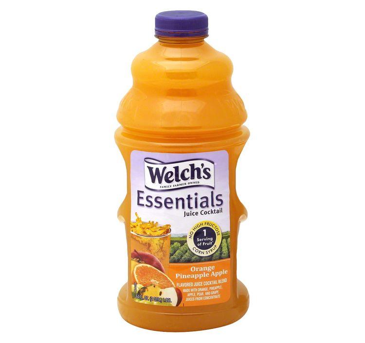 Welch's® Essential Orange Pineapple Mango Juice Cocktail
