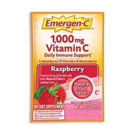 Emergen-C Raspberry Original Formula Immune Support