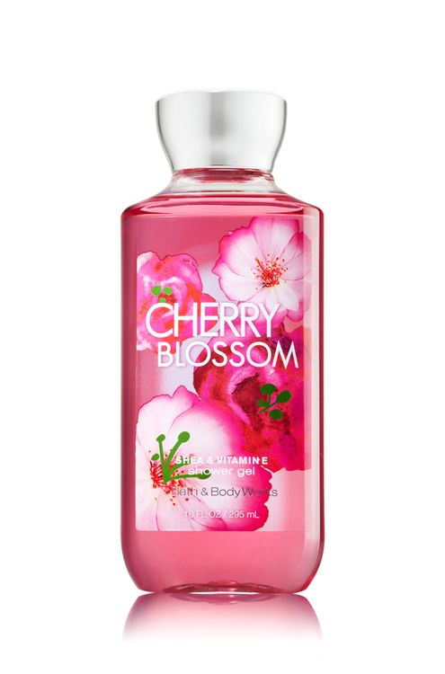 Bath & Body Works Signature Collection CHERRY BLOSSOM Shower Gel