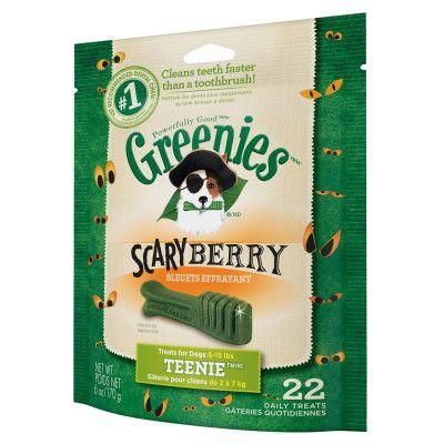 Greenies Scary Berry Teenie Dental Dog Treat