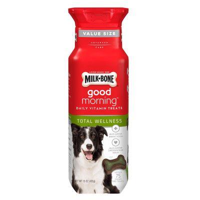 Milk Bone Milk-Bone Good Morning Total Wellness Daily Vitamin Dog Treat