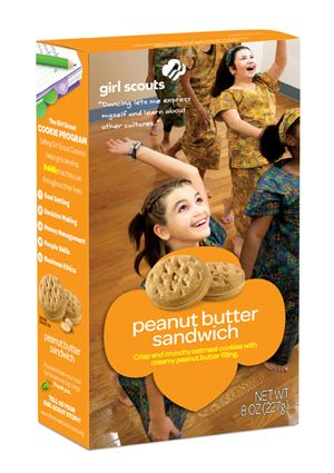 Do-si-dos® / Peanut Butter Sandwich Girl Scout Cookies