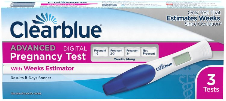 Clearblue Advanced Pregnancy Test with Weeks Estimator