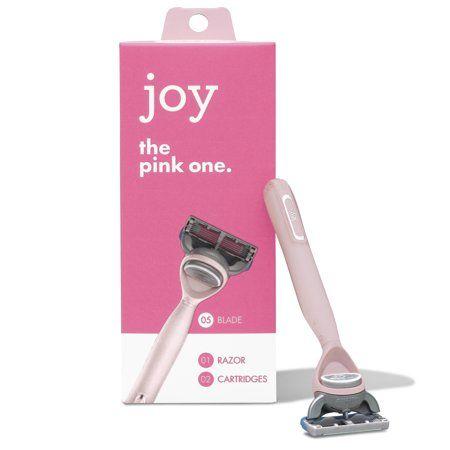 Joy The Pink One 1 Razor And 2 Cartridges