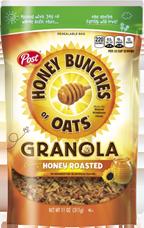 Honey Bunches of Oats Granola - Honey Roasted