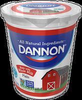 Dannon® All Natural Plain Whole Milk Yogurt