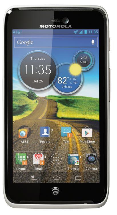 Motorola - Atrix HD 4G Mobile Phone - Titanium (AT & T)