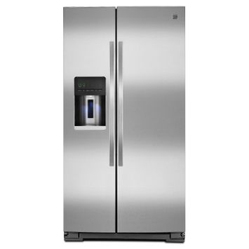Kenmore 26 cu. ft. Side-by-Side Refrigerator - Stainless Steel