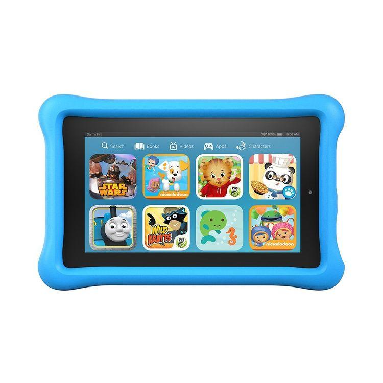 "Amazon - Fire Kids Edition - 7"" Tablet - 8GB - Blue/black"