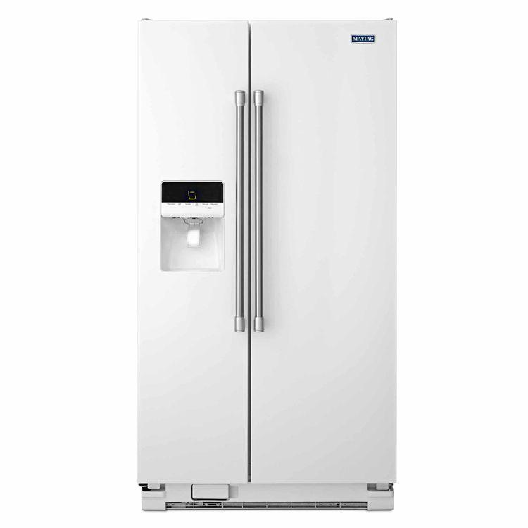 Maytag White Side-By-Side Refrigerator