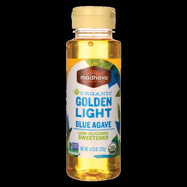 Organic Golden Light Blue Agave