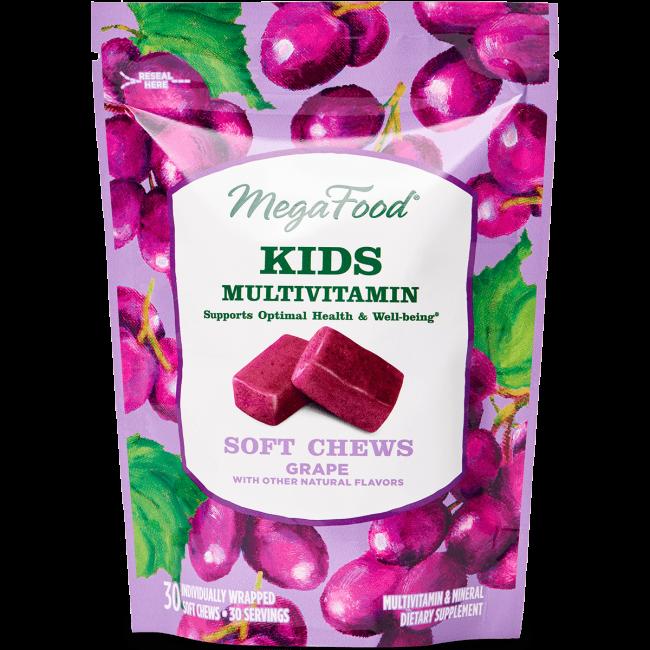 Kids Multivitamin Soft Chew - Grape