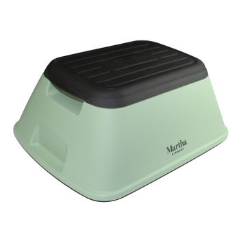 Martha Stewart MTS-STL7-MGN Safety Garden/Home Stool (Mint)
