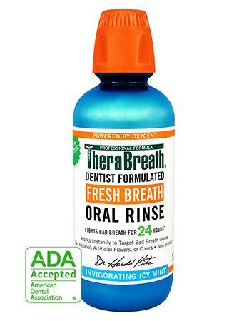 TheraBreath 24-Hour Fresh Breath Oral Rinse - Icy Mint