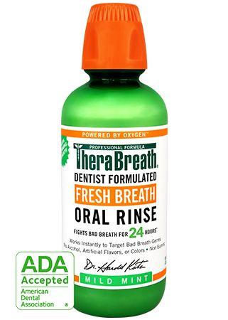 TheraBreath 24-Hour Fresh Breath Oral Rinse