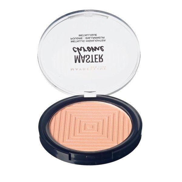 Maybelline Face Studio Chrome 50 Rose Gold Metallic Highlighter