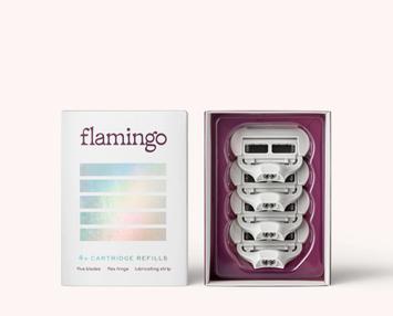 Flamingo Women's Razor Blades - 4ct