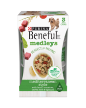 Beneful Medleys Mediterranean Style Wet Dog Food with Lamb, Tomatoes, Brown Rice & Spinach