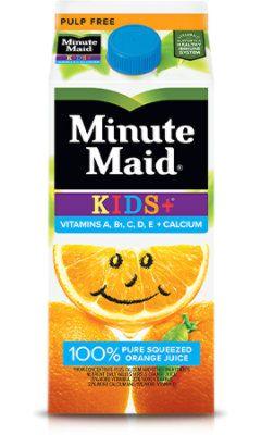 Minute Maid Orange Kids Plus