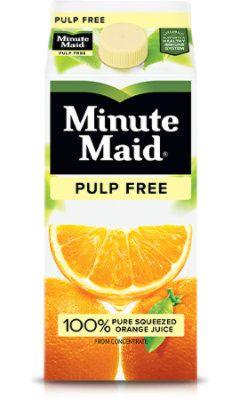 Minute Maid Orange Pulp Free