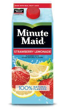 Minute Maid Strawberry Lemonade