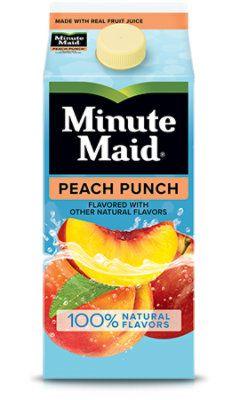 Minute Maid Peach Punch