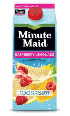 Minute Maid Raspberry Lemonade