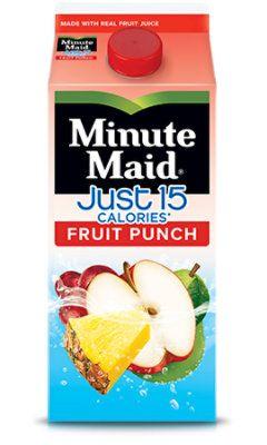 Minute Maid 15 Calorie Fruit Punch