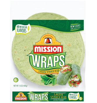 Mission Garden Spinach Wraps
