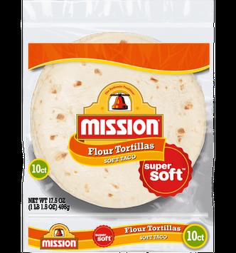 Mission Soft Taco Flour Tortillas